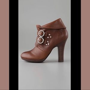 FRYE Matilda 2 strap bootie ankle boot 9 in box